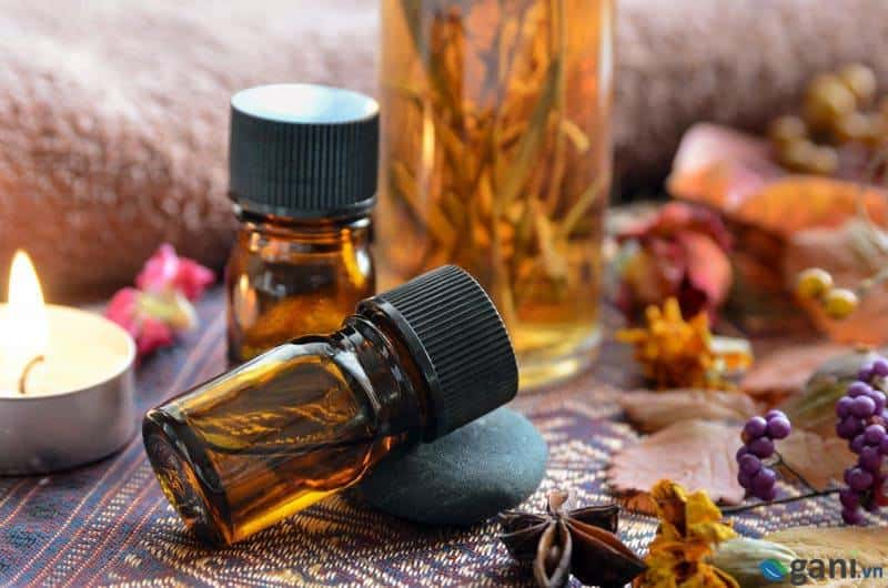 Sử dụng tinh dầu nguyên chất