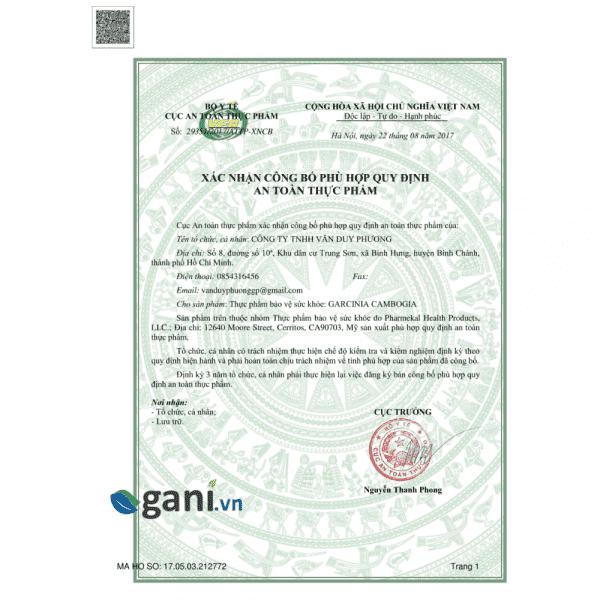 Excel Slim (Garcinia Cambogia) 3
