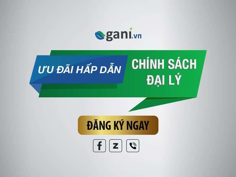 Tuyển CTV/Đại lý bán các sản phẩm của Gani trên toàn quốc