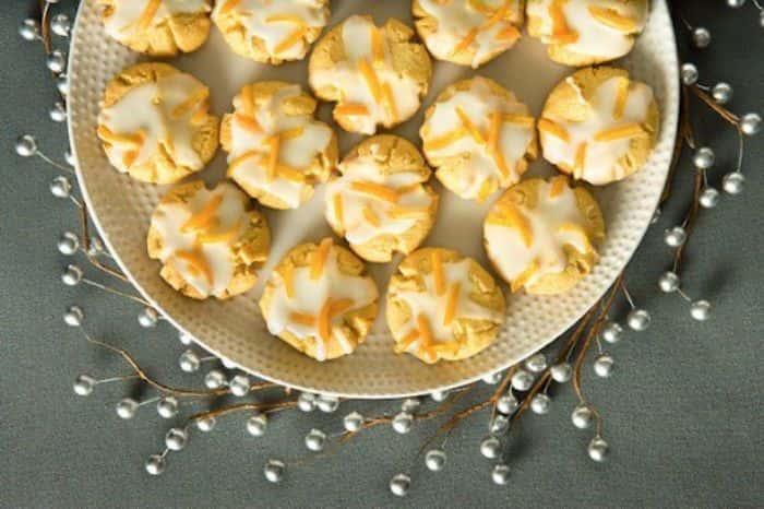 Trổ tài bếp núc cùng món bánh quy bơ cialis vị cam